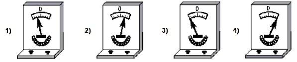 показания гальванометра